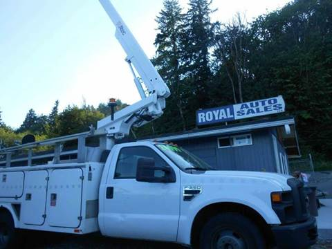 2008 Ford Boom Truck for sale at Royal Auto Sales, LLC in Algona WA