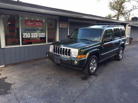 2007 Jeep Commander for sale at Royal Auto Sales, LLC in Algona WA
