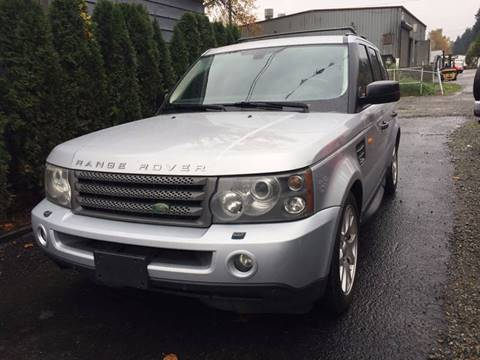 2008 Land Rover Range Rover Sport for sale at Royal Auto Sales, LLC in Algona WA