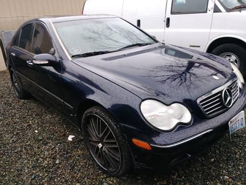 2002 Mercedes-Benz C-Class for sale at Royal Auto Sales, LLC in Algona WA