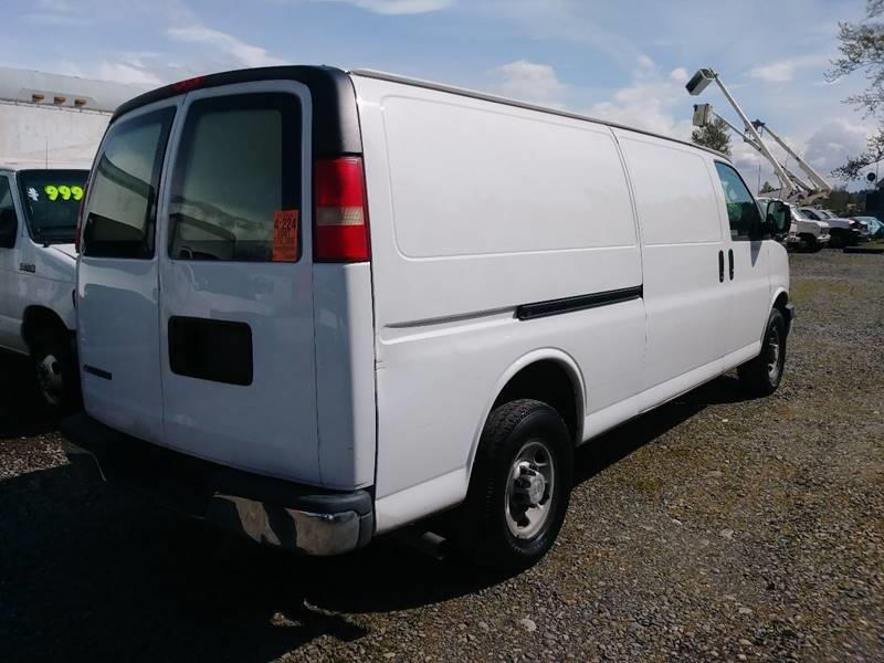 2007 Chevrolet Express Cargo 2500 3dr Extended Cargo Van - Algona WA