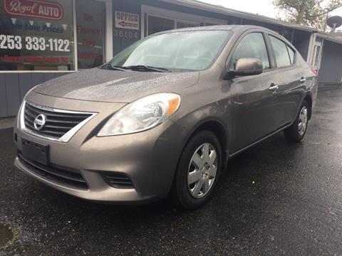 2012 Nissan Versa for sale in Algona, WA