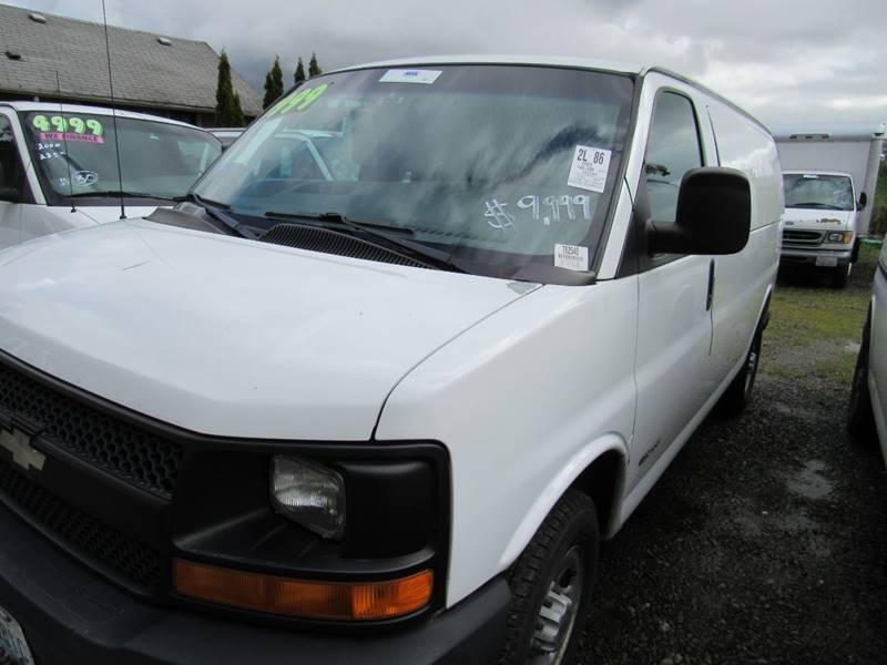 2003 Chevrolet Express Cargo 2500 3dr Van In Algona Wa