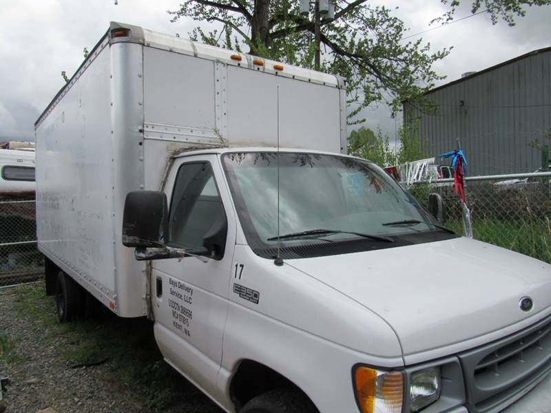 1996 Ford E-450 16ft  Box Truck In Algona WA - Royal Auto