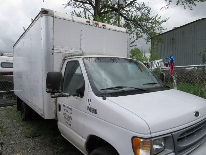 1996 Ford E 450 16ft Box Truck In Algona Wa Royal Auto Sales Llc