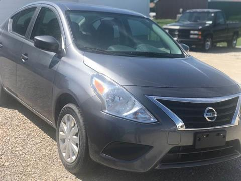 Used Nissan Versa >> 2016 Nissan Versa For Sale In Paris Il