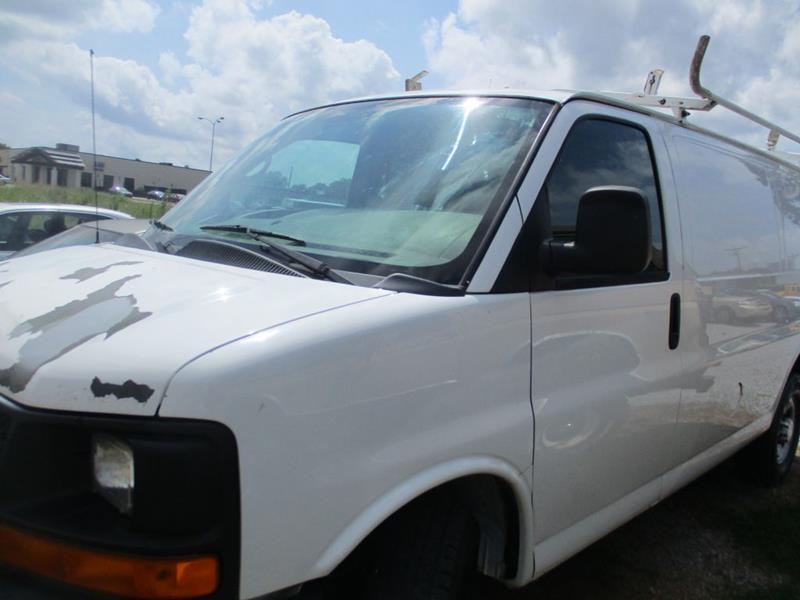 2010 Chevrolet Express Cargo 2500 3dr Cargo Van W 1wt In