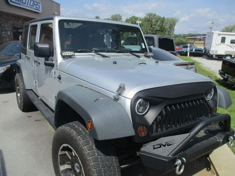 2010 Jeep Wrangler Unlimited for sale in Chattanooga, TN