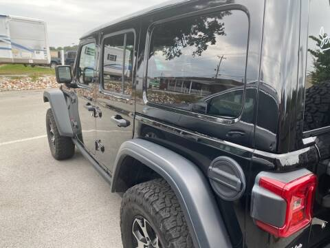 2018 Jeep Wrangler Unlimited for sale at Z Motors in Chattanooga TN