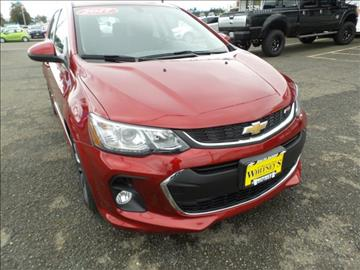 2017 Chevrolet Sonic for sale in Montesano, WA
