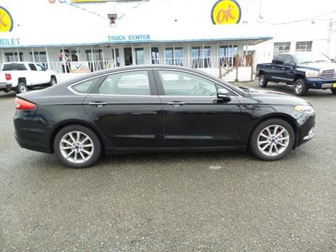 2017 Ford Fusion for sale in Montesano, WA