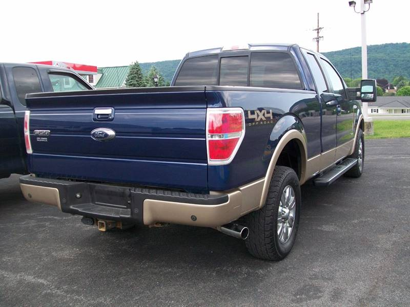 2011 Ford F-150 4x4 Lariat 4dr SuperCab Styleside 6.5 ft. SB - Roaring Spring PA