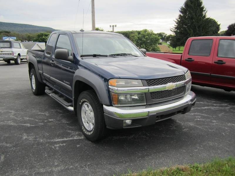 2004 Chevrolet Colorado 4dr Extended Cab Z71 Ls 4wd Sb In Roaring