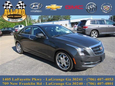 2015 Cadillac ATS for sale in Lagrange, GA
