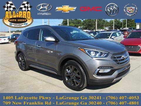 2017 Hyundai Santa Fe Sport for sale in Lagrange, GA