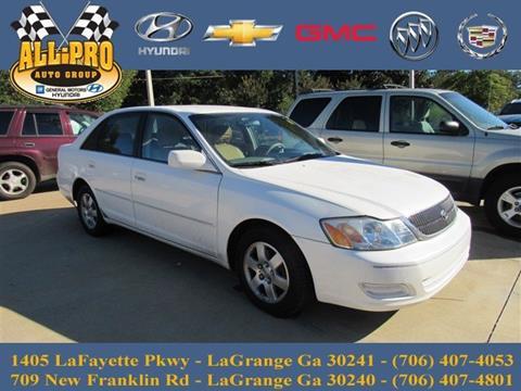 2001 Toyota Avalon for sale in Lagrange, GA