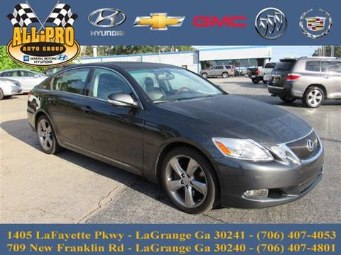 2010 Lexus GS 350 for sale in Lagrange, GA