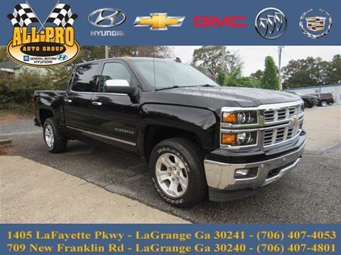 2015 Chevrolet Silverado 1500 for sale in Lagrange, GA