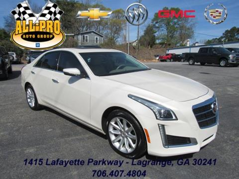 2014 Cadillac CTS for sale in Lagrange, GA
