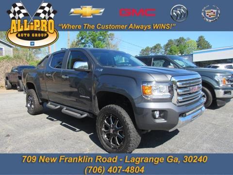 2016 GMC Canyon for sale in Lagrange, GA