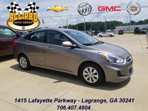2017 Hyundai Accent for sale in Lagrange, GA