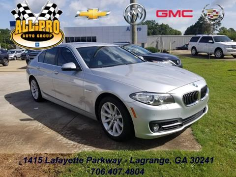 2015 BMW 5 Series for sale in Lagrange, GA