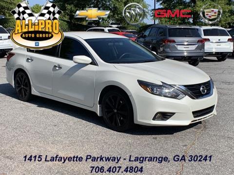 2018 Nissan Altima for sale in Lagrange, GA