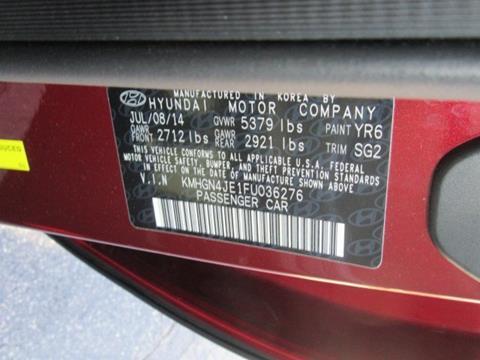 2015 Hyundai Genesis for sale in Lagrange, GA