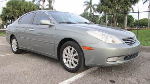 2003 Lexus ES 300 for sale at Rosa's Auto Sales in Miami FL