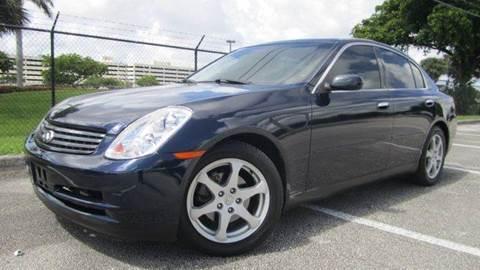 2003 Infiniti G35 for sale at Rosa's Auto Sales in Miami FL