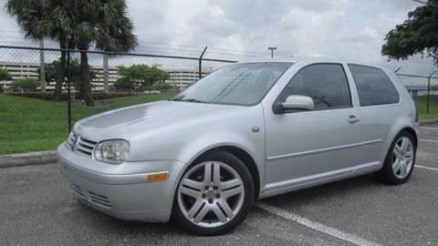 2002 Volkswagen GTI for sale at Rosa's Auto Sales in Miami FL