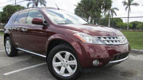 2006 Nissan Murano for sale at Rosa's Auto Sales in Miami FL
