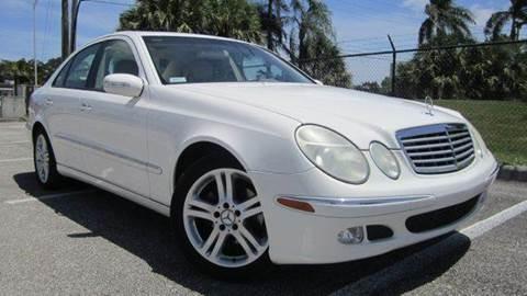 2005 Mercedes-Benz E-Class for sale at Rosa's Auto Sales in Miami FL