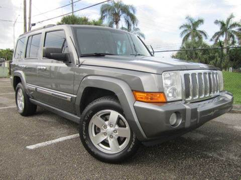 2007 Jeep Commander for sale at Rosa's Auto Sales in Miami FL