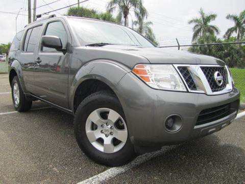 2008 Nissan Pathfinder for sale at Rosa's Auto Sales in Miami FL