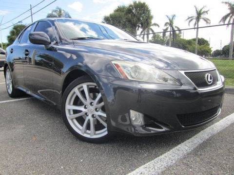 2006 Lexus IS 250 for sale at Rosa's Auto Sales in Miami FL