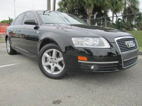 2007 Audi A6 for sale at Rosa's Auto Sales in Miami FL