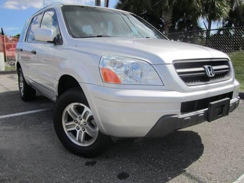 2005 Honda Pilot for sale at Rosa's Auto Sales in Miami FL