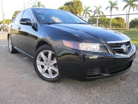 2005 Acura TSX for sale at Rosa's Auto Sales in Miami FL