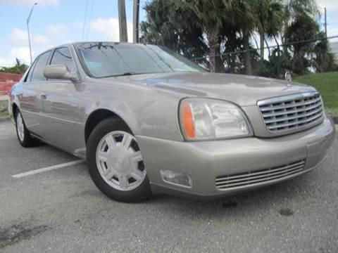 2003 Cadillac DeVille for sale at Rosa's Auto Sales in Miami FL