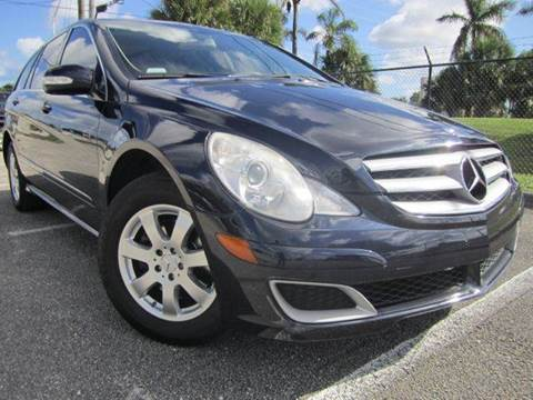 2007 Mercedes-Benz R-Class for sale at Rosa's Auto Sales in Miami FL