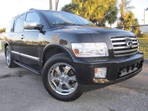 2006 Infiniti QX56 for sale at Rosa's Auto Sales in Miami FL