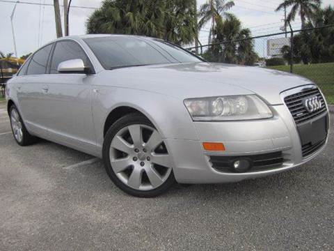2005 Audi A6 for sale at Rosa's Auto Sales in Miami FL