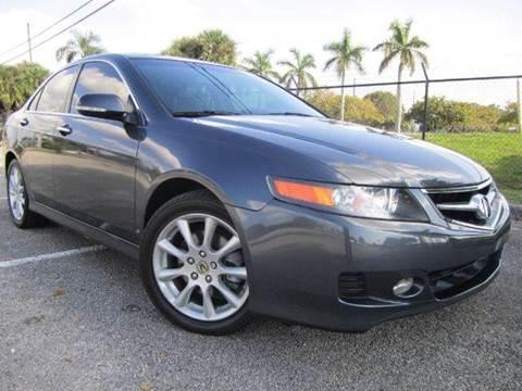 2007 Acura TSX for sale at Rosa's Auto Sales in Miami FL