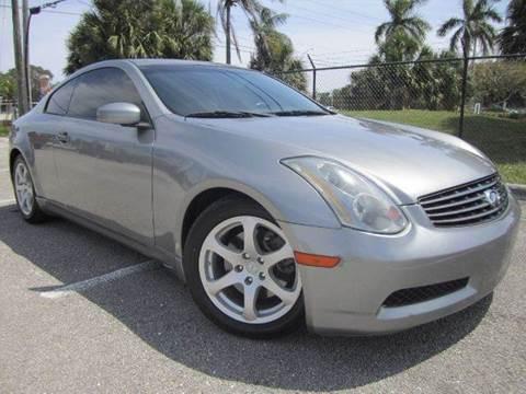 2005 Infiniti G35 for sale at Rosa's Auto Sales in Miami FL