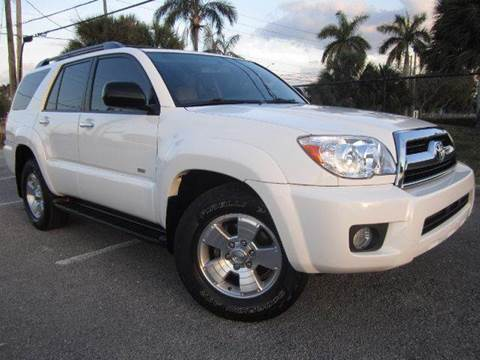 2007 Toyota 4Runner for sale at Rosa's Auto Sales in Miami FL