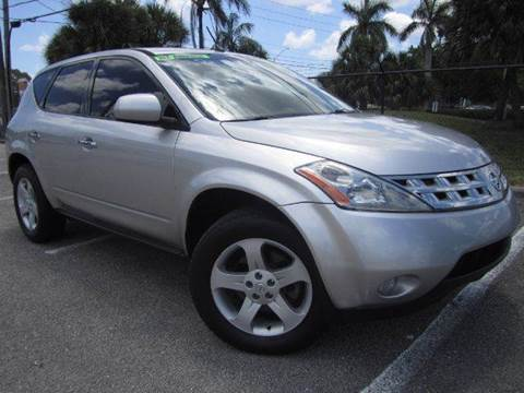 2005 Nissan Murano for sale at Rosa's Auto Sales in Miami FL