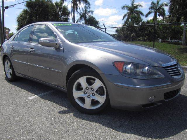 Acura Rl WNavi WTech AWD Dr Sedan System Tech Package In - Acura rl 2006 for sale
