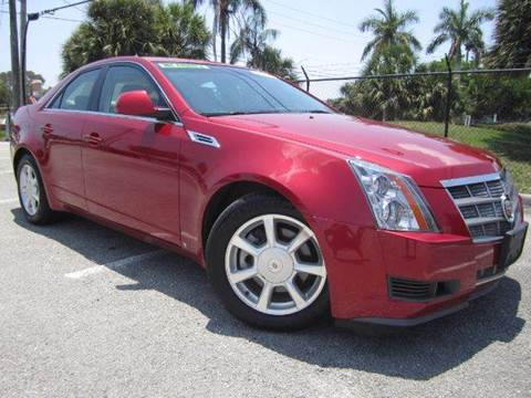 2008 Cadillac CTS for sale at Rosa's Auto Sales in Miami FL