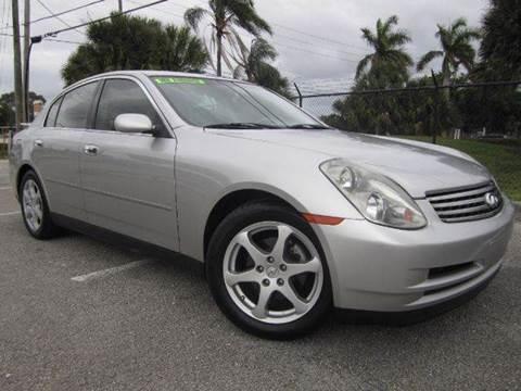 2004 Infiniti G35 for sale at Rosa's Auto Sales in Miami FL